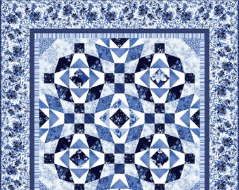 Silver Jubilee Quilt Kit by Maywood Studio KIT-MASJUB