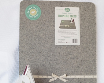 """24"""" Wooly Felted Wonders Wool Ironing Mat Pressing Station 17"""" x 24"""""""