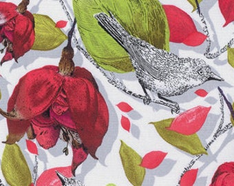 1/2 yd Baroque Garden Ornamental by Studio KM for Free Spirit Fabrics PWKM017.MESAX