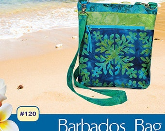 Pink Sand Beach Designs Barbados Bag Pattern #120