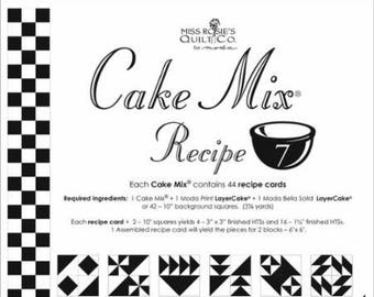 Moda Cake Mix Recipe by Miss Rosie's Quilt Co Design #7