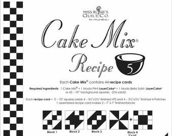 Moda Cake Mix Recipe by Miss Rosie's Quilt Co Design #5