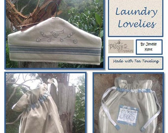 Laundry Lovelies by Pieces To Treasure Made with Moda Toweling PTT 103