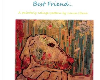 Best Friend Dog Collage Quilt Pattern by Laura Heine for Fiberworks FBWBF