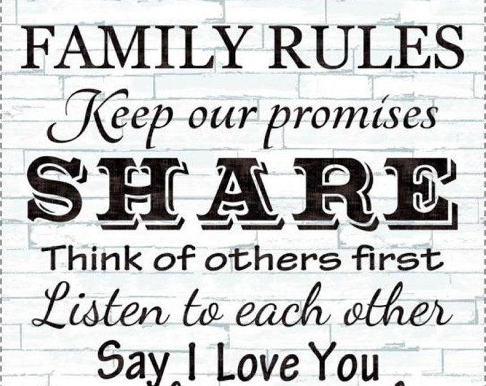 """END of the BOLT 24"""" Family Rules Panel by Timeless Treasures Fabric C4427-DOVE"""