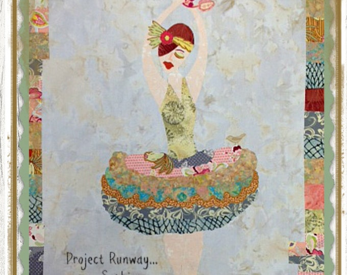 Project Runway Sophie Collage Pattern by Laura Heine for Fiberworks