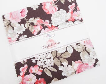 English Rose Stacker/Layer Cake by Penny Rose Studios for Riley Blake Fabrics 10-6970-42