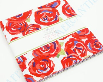 Coming Up Roses Stacker Layer/Cake by Jill Finley for Penny Rose/Riley Blake Fabrics 10-6270-42