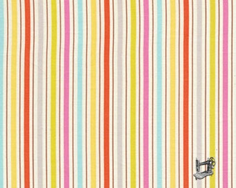 1/2 yd Dena Designs Kumari Garden Tanaya Pink Stripe Free Spirit Fabrics  DF103.PINKX