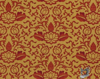 1/2 yd Harvest Riches Concerto Gold by April Cornell for Free Spirit Fabrics PWAC031.0GOLD