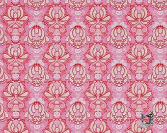1/2 yd Vienna Damask Fabric by Andrea Mueller of Jolijou for Riley Blake Designs C5831-PINK