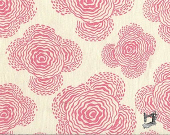 1/2 Yd Midwest Modern Floating Buds by Amy Butler for FreeSpirit Fabrics AB33.IVOR
