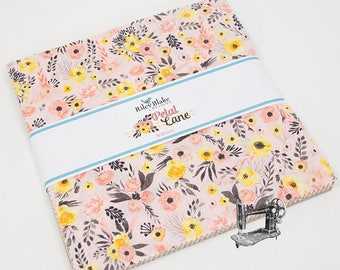Petal Lane Stacker/Layer Cake by BoBunny for Riley Blake Fabrics 10-6920-42