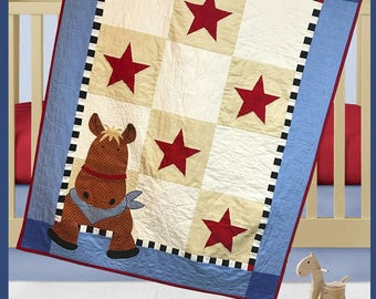 Henry Horse Quilt Pattern by The Quilt Factory/Debra Grogan QF 1714