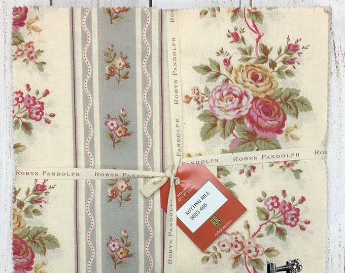 FREE SHIPPING Notting Hill Patty Cake Pre Cut by Robyn Pandolph for RJR Fabrics 9653-495