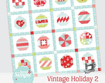 Vintage Holiday 2 Paper Pattern by Camille Roskelley for Thimble Blossoms #218