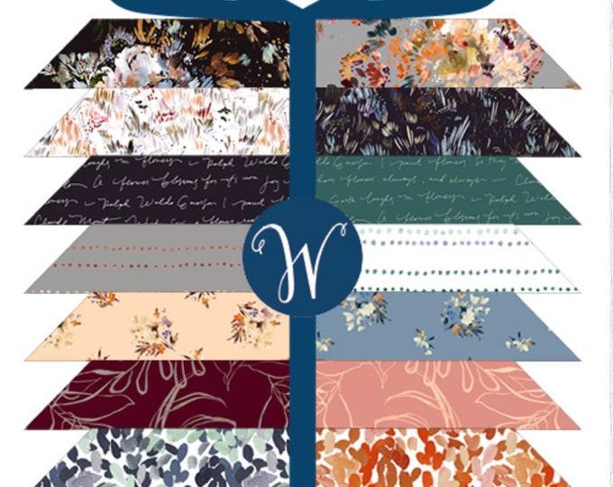 FREE SHIPPING Botany Fat Quarter Bundle by Kelly Ventura for Windham Fabrics BOTANYFQ