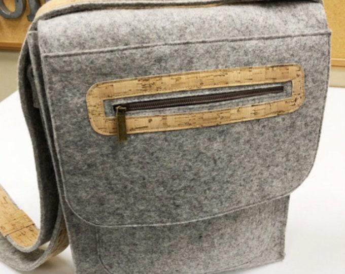 Messenger Bag Purse Kit by Wooly Felted Wonders - Die Cut Wool