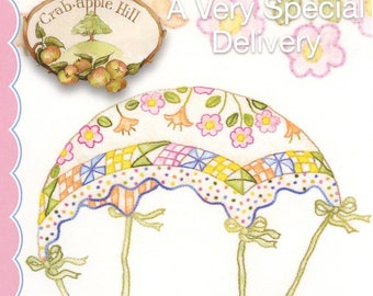 A Very Special Delivery Embroidery Pattern by Crabapple Hill/Meg Hawkey #601