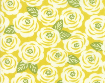 1/2 yd Lazy Days Floral Roses by Gina Martin for Moda Fabrics 10071 16