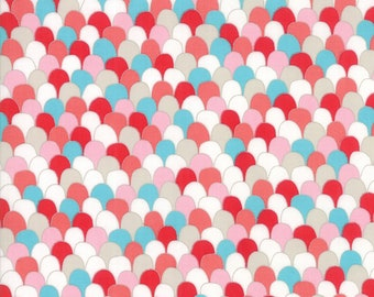 1/2 yd Farm Fresh Novelty Children Scalloped Feathers by Gingiber for Moda Fabrics 48266 21