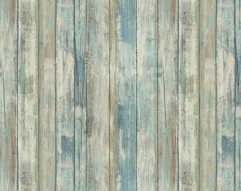 1/2 yd Farmall Woodgrain Fabric by Print Concepts PRC10216
