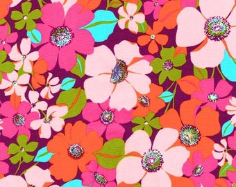 1/2 yd Laurel Canyon Retro Floral by Robert Kaufman Fabrics SRK-16916-256