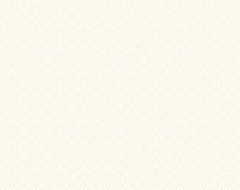 """End Of Bolt 22"""" Daisy Tone On Tone Cream by Riley Blake C750 01 Cream"""