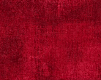 1/2 yd Essentials Dry Brush Texture Fabric by Danhui Nai for Wilmington Prints 1077 89205 399 Cherry