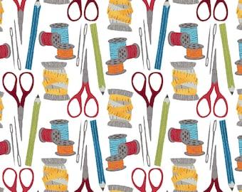 1/2 yd Crafty Studio Sewing Kit by Dana Saulnier for Studio E Fabrics 4580-9
