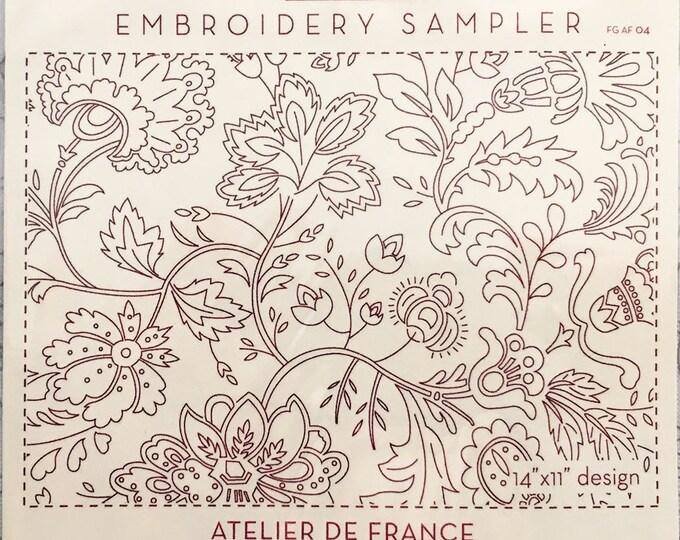 Atelier De France Embroidery Sampler by French General FG-AF004