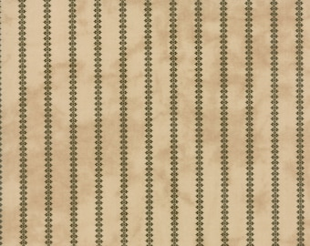 1/2 yd Little Gatherings II Reproduction Floral Stripe by Primitive Gatherings for Moda Fabrics 1184 12 Time Worn