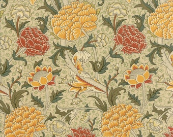1/2 yd William Morris 2017 Reproduction Floral Cray by V & A for Moda Fabrics 7300 12