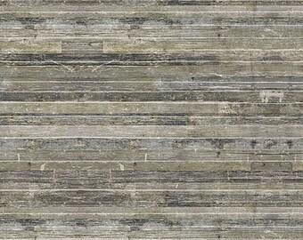 Tim Holtz Yuletide Birch Planks Fabric // FreeSpirit PWTH122.NEUTRAL by the Half Yard