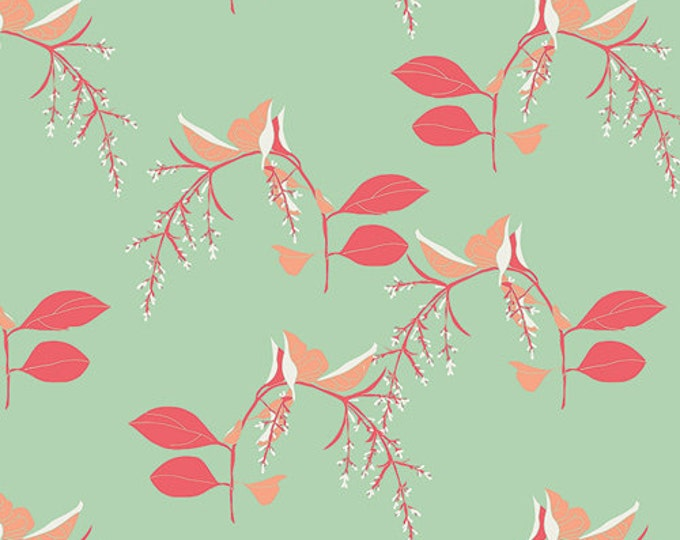 1/2 yd SALE Reminisce Branchlets Charming Fabric by Bonnie Christine for Art Gallery Fabrics RMS 2505