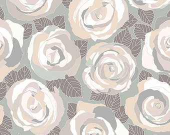 1/2 yd Mosaic Roses by Shannon Brinkley for Andover/Makower Fabric A-8880-C