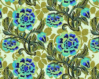 1/2 yd Pastiche Peony by Jason Yenter for In The Beginning Fabrics 6JYG-2