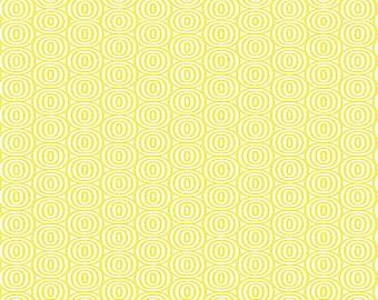 Lemon Twist Optic Circles Fabric by Kanvas Studio for Benartex 8411-33 by the Half Yard