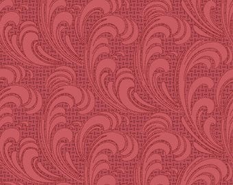 Regent's Park Flourish Fabric // Maywood Studio MAS8168-R by the HALF YARD