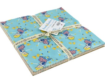 "Animal Quackers 10"" Squares/Stacker/Layer Cake by Kim's Cause Collection for Maywood Studio  SQ/MASANQ"