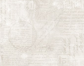 Farmhouse Fields Burlap Creme Fabric // Adornit by the HALF YARD