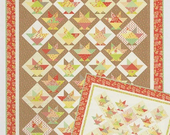 Laundry Baskets Quilt Pattern by Joanna Figueroa for Fig Tree Quilts #1033