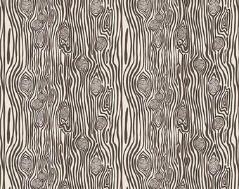 1/2 yd High Adventure 2 Woodgrain by Design by Dani for Riley Blake Fabrics C7254 Cream