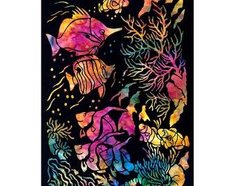 Ocean Paradise Laser Cut Silhouette Design by Krystal Hayes & Scott Hayes SSTOPL2019