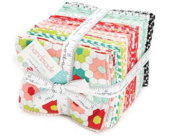 Handmade Fat Quarter Bundle by Bonnie & Camille for Moda Fabrics 55140AB