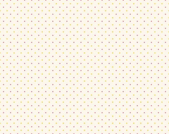 1/2 yd Lily Dot by Sue Penn for Riley Blake & Penny Rose Fabric C5934-YELLOW