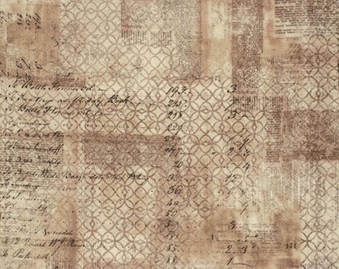 "END of BOLT 32"" Wallflower Ledger by Tim Holtz for Free Spirit/Coats Fabric PWTH033.8MULT"