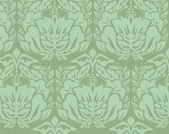 1/2 yd REMINISCE Timeless Fair Green by Bonnie Christine for Art Gallery Fabrics RMS 2502