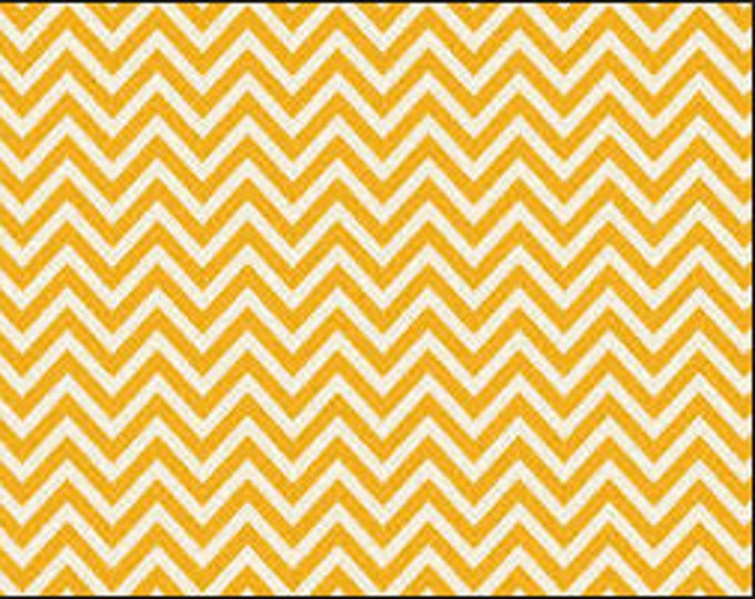 1/2 yd Riley Blake Sweetest Thing Knit Chevron Fabric by Zoe Pearn K2985 Yellow