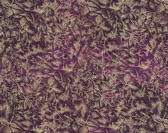 1/2 yd Fairy Frost Fabric Eggplant by Michael Miller Fabrics CM0376-EGGP-D